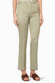 thumbnail of Olive-Green Patterned Violante Pants  #0