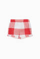 thumbnail of Red Gingham Shorts #2