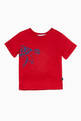 thumbnail of Brick-Red Turtle Print T-Shirt   #0