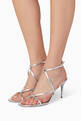thumbnail of Valentino Garavani Rockstud Metallic Sandals       #1