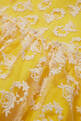 thumbnail of Yellow Floral Embroidered Lace Dress #3
