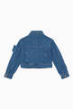thumbnail of Blue Butterfly Denim Jacket #2
