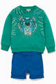 thumbnail of Jungle Tiger Logo Embroidered Sweatshirt  #1