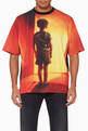 thumbnail of Orange Close Encounters All Over T-Shirt   #0