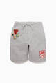 thumbnail of Patch-Detail Cotton Shorts    #0