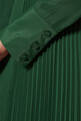 thumbnail of Dark-Green Chiffon Maxi Dress       #3
