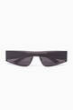 thumbnail of Mono Rectangular Sunglasses   #0