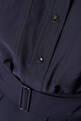thumbnail of Dark-Blue Utility Shirt Dress    #3