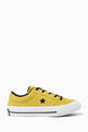 thumbnail of Yellow One Star Sneakers    #1