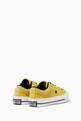 thumbnail of Yellow One Star Sneakers    #2