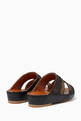 thumbnail of Camouflage-Print Leather Sandals #2
