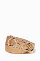thumbnail of Choo Logo Nappa Leather Belt #0