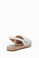 thumbnail of Bonnie Bow Leather Slingback Espadrille Sandals #2