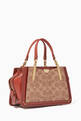 thumbnail of Dreamer 21 Signature Coated Canvas Shoulder Bag     #2