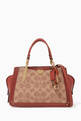 thumbnail of Dreamer 21 Signature Coated Canvas Shoulder Bag     #0