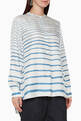 thumbnail of Striped Silk Popover Tunic Top #0