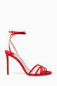 thumbnail of Mimi Suede Stiletto Sandals #0