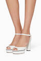 thumbnail of Peachy Leather Platform Sandals #1
