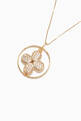 thumbnail of Floral Geometric Cubic Zirconia Necklace #3