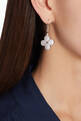 thumbnail of Floral Cubic Zirconia Dangle Earrings #1