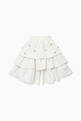 thumbnail of Embellished  Ruffle-Tiered Shorts #2