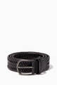 thumbnail of Woven Leather Belt   #0