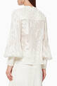 thumbnail of Bismarck Embroidered Linen-Silk Top #2