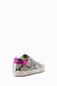 thumbnail of Superstar Snake Print Leather Sneakers    #2