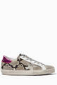 thumbnail of Superstar Snake Print Leather Sneakers    #0