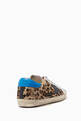thumbnail of Superstar Leopard Print Leather Sneakers   #2