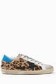 thumbnail of Superstar Leopard Print Leather Sneakers   #0