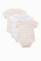 thumbnail of Logo Print Babygrows, Set of 3 #1