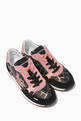 thumbnail of Giraffe Nylon Suede Sneakers #0