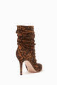 thumbnail of Suede Leopard Print Boot  #2