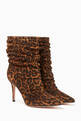 thumbnail of Suede Leopard Print Boot  #4