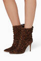 thumbnail of Suede Leopard Print Boot  #1