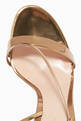 thumbnail of Mirror-Leather Strappy Platform Sandals    #3