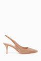 thumbnail of Suede Slingback Pump #0