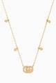 thumbnail of Yellow-Gold & Diamond Double G Necklace #1