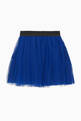 thumbnail of Pleated Tulle Midi Skirt #2