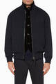 thumbnail of Classic Wool Bomber Jacket #0