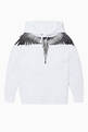 thumbnail of Wings Logo Print Hooded Sweater #0