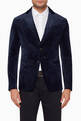 thumbnail of Velvet Slim Fit Blazer Jacket #0