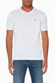 thumbnail of V-Neck Cotton T-Shirt, Set of Two  #0