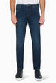 thumbnail of Slim Fit Cotton Twill Jeans #0