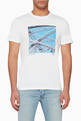 thumbnail of Graphic-Print Bridge T-Shirt #0