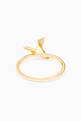 thumbnail of Yellow-Gold & Diamond Dove Ring #2