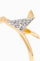thumbnail of Yellow-Gold & Diamond Dove Ring #3
