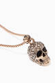 thumbnail of Pavé Skull Necklace #3