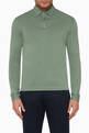 thumbnail of Long-Sleeved Polo T-Shirt #0